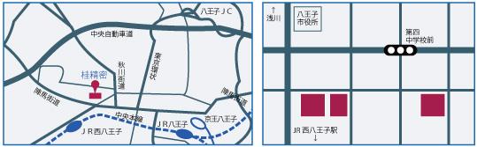 桂精密地図